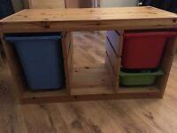 Storage unit for kids room - Ikea Trofast