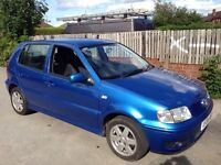 27/08/16 Vw polo auto automatic 12 months mot