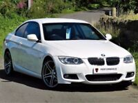 ★ALPINE WHITE★ BMW 325i M SPORT COUPE AUTO E92 - FULL LEATHER - FMDSH - FINANCE AVAILABLE - TOP SPEC