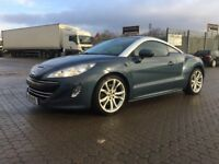 2011│Peugeot RCZ 2.0 HDi GT 2dr│Leather Seats│Heated Seats│Bluetooth│6 Months Warranty│Hpi Clear