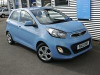 KIA PICANTO 1.0 1 5d 68 BHP **FREE ROAD TAX** (blue) 2012