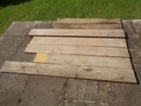Scaffold boards (different sizes)