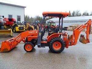 2014 Kubota B26 Tractor Loader Backhoe