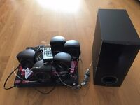 LG DVD Home Theater System with DVD Player and 5 speakers plus woofer