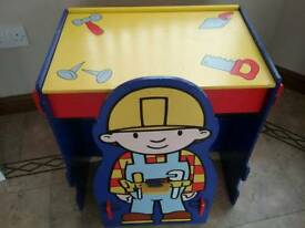 Bob the Builder desk and chair