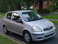 TOYOTA YARIS 1.0L 5DOOR LADY OWNER FROM NEW 15 SERVICES MOT TILL30/12/2018 EXCELLENT CONDITION