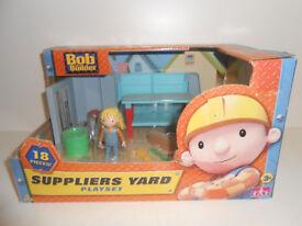 Bob the Builder Play Set Unused