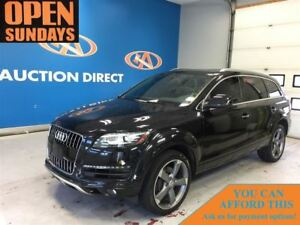 2015 Audi Q7 3.0 TDI 3 ROWS! NAVI! SUNROOF! FINANCE NOW!