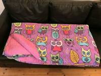Bed Cover with Owls - Super King Size