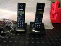 Panasonic - Twin Cordless Home Phones