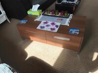 Side board, coffee table, tv unit