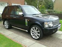 LPG coverted Range Rover vogue 4.4 v8. 12 months mot service history. cheap to run only 50p ltr
