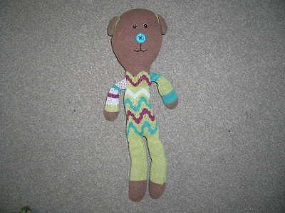 Mamas & Papas Babies Long Knitted Soft Bear