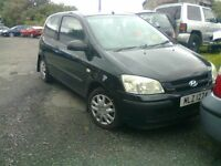2004 HYUNDAI GETZ 1.1 PETROL BREAKING FOR PARTS