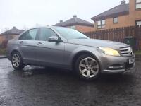 62 Plate Mercedes- Benz C220 CDI EXECUTIVE PACK SE BLUE-EFFICIENCY, FULL MERCEDES SERVICE HISTORY