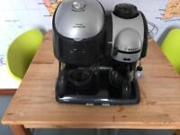 Double coffee machine