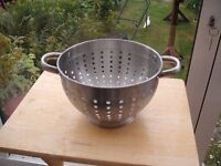 Large Kitchen Stainless Steel Sieve (used once)