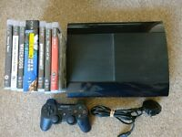 Playstation 3, Super Slim 500gb with Games, Needs to GO!!