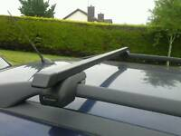 Roof rack /Roof Bars - suit Vauxhall Zafira plus many others with similar roof rails.