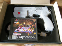 TIME CRISIS + G-CON 45 LIGHT GUN BOXED RETRO