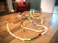 MASSIVE Wooden Train Set!