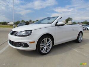 2012 Volkswagen EOS 2.0T fully loaded convertible hard top
