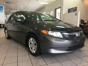 2012 Honda Civic LX AUTOMATIC A/C SEULEMENT 52$/SEM