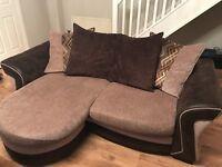 DFS Chance pillowback 3 seater lounger sofa