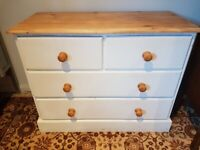 Solid Pine Chest of Drawers - DELIVERY AVAILABLE