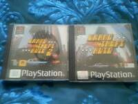 Gta 1 and 2 ps1 with booklets