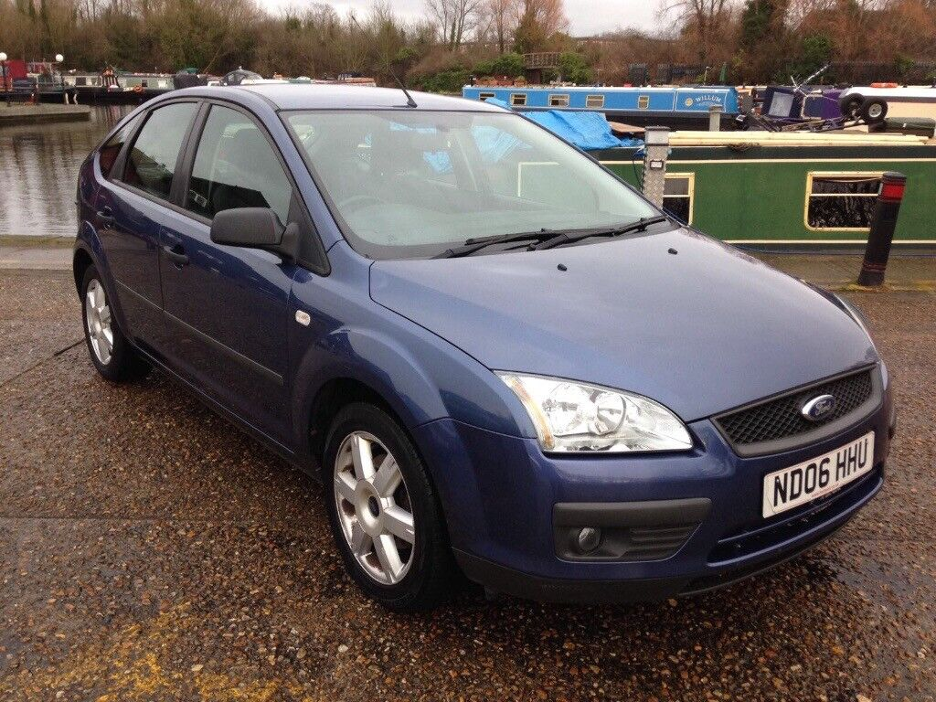 Ford focus 2006 tdci 5dr in blue