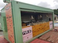 Catering Trailer Fixed Unit/Kitchen *Specially Built Bespoke Container Unit*