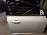 Ford Focus o/s front driver 2014 white