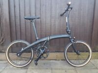 Dahon Uno Folding Bicycle - Great lightweight commuter - BROMPTON Alternative