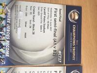 ICC champions trophy 1st semi final tickets Silver