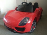 Kids ride on 12v electric toy sports car - ideal present