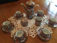 Vintage Japanese Porcelain Tea / Coffee Set