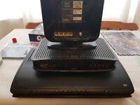 1TB HD tivo box + super hub + vbox