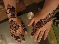 beautiful henna tattoo/ mehandi/temporary tattoo
