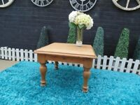 ANTIQUE SOLID PINE COFFEE TABLE VERY RUSTIC LOOKING SOLID AND IT'S IN EXCELLENT CONDITION