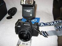 35mm SLR camera. Praktica BX20