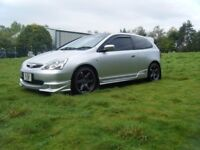 BIG SPEC HONDA CIVIC TYPE R EP3 FSH LOW MILEAGE ENGINE FITTED VERY SMART EXAMPLE