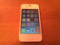 Apple iPhone 4-16Gb- On O2-Tesco-Giffgaff