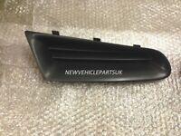 Front Bumper Upper Grille Left Black Mat Renault Clio 2005-2009 Not Campus New