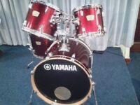 "YAMAHA YD FUSION/JAZZ SIZED SHELL PACK (20"" BASS DRUM)"