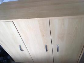Beech unit / cupboard