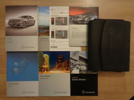 Mercedes Benz E Class Owners Handbook/Manual and Wallet 13-16