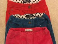 3 pairs of girls Mini Boden cords age 11 years