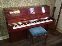 Steinmayer S108 upright piano £750 O.N.O (stool included)