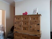 Pine sideboards in excellent condition